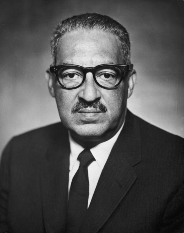 a life history of thurgood marshall an african american associate justice Thurgood marshall was sworn in as the nation's first african american supreme court associate justice on october 2, 1967 a 1969 oral history interview with justice marshall conducted for the lbj presidential library by th baker, who headed the lbj oral history program.